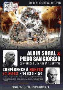 Survivre à l'effondrement économique ? Les interrogations et les réponses de Piero San Giorgio dans Alain soral viewer-212x300
