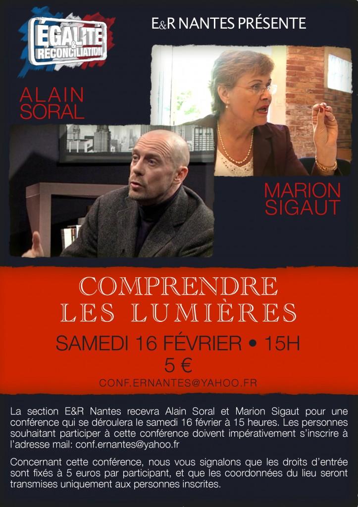 Conférence et dédicace avec Alain Soral et Marion Sigaut le 15 et 16 février à Nantes dans Alain soral 2328579-0